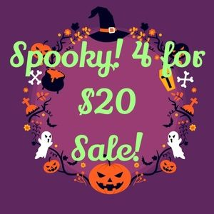 READ ME! October Sale! 4 items for $20
